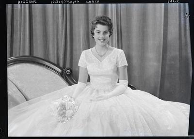 Film negative: Miss Higgens, debutante