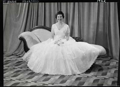 Film negative: Miss McHugh, debutante