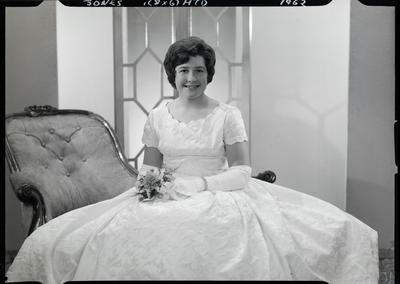Film negative: Miss Jones, debutante