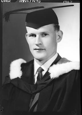 Film negative: Mr Cook, graduate