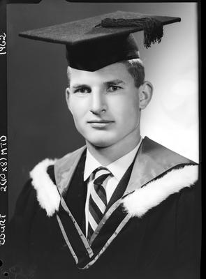 Film negative: Mr Court, graduate