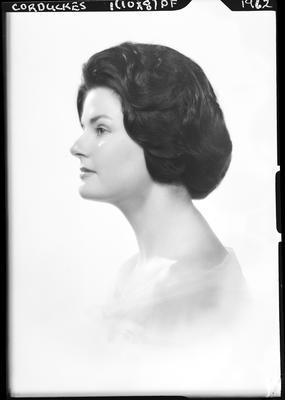 Film negative: Miss Corduckes