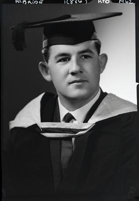 Film negative: Mr McBride, graduate