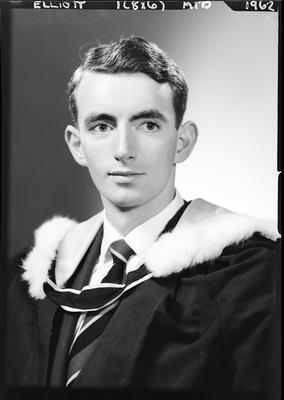 Film negative: Mr Eliott, graduate