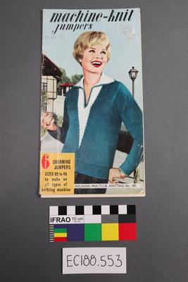 magazine, knitting pattern; 1959; ;