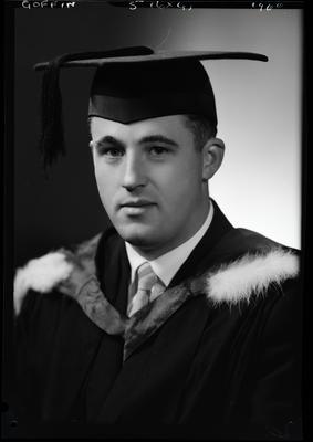 Film negative: Mr Goffin, graduate