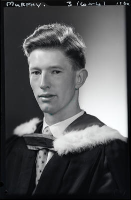 Film negative: Mr Murphy, graduate