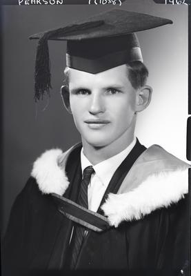 Film negative: Mr Pearson, graduate