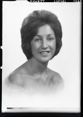 Film negative: Miss Annett