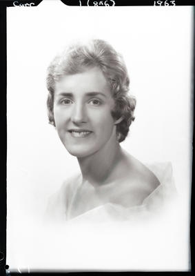 Film negative: Miss Carr