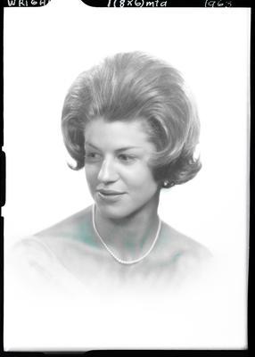Film negative: Miss Wright