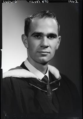 Film negative: Mr Ludwig, graduate