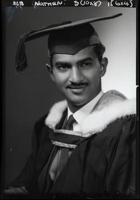 Film negative: Mr Nathan, graduate