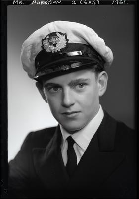 Film negative: Mr Morrison, Navy