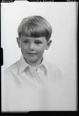 Film negative: Mr Penny, boy