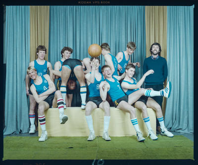 Negative: CBHS Basketball Team 1984