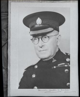 Film negative: Captain Hoskings