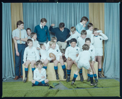 Negative: HSOB 11yos Rugby Team 1984