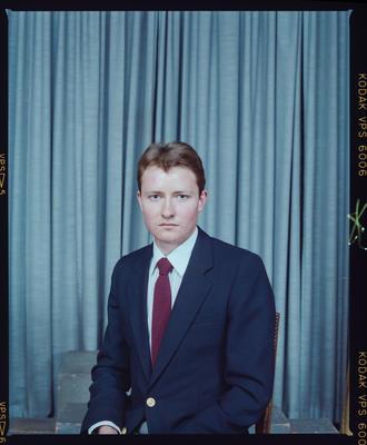 Negative: Paul Insen Passport Photo