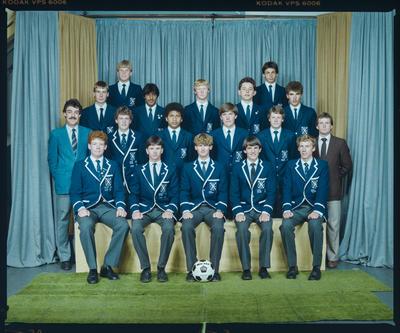 Negative: St Andrews 1st XI Soccer 1984