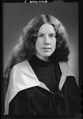 Film negative: Miss S Watson, graduate