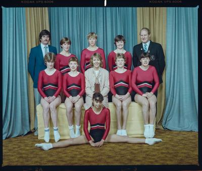 Negative: Canterbury Junior Gymnastics Team 1984