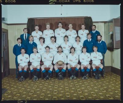 Negative: CHSOB Senior B Rugby 1984