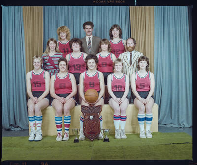 Negative: Canterbury Women's Basketball 1984