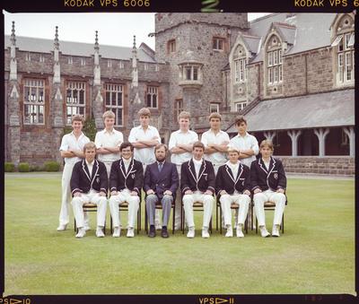Negative: Christ's College 1st XI Cricket 1984