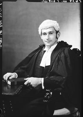 Film negative: Mr Cull, barrister