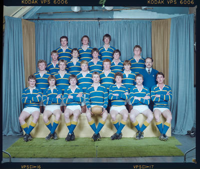 Negative: Lincoln College Rugby Team 1984