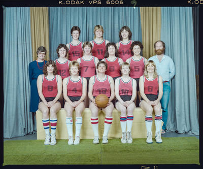 Negative: Canterbury Women's Basketball 1984