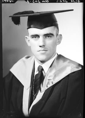 Film negative: Mr Kelly, graduate