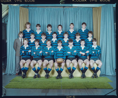 Negative: CBHS 2nd XV Rugby 1984