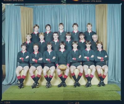 Negative: St Bede's U15 Rugby 1984