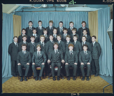 Negative: St Bede's Prefects 1984