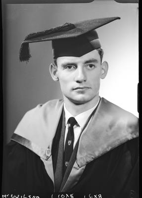 Film negative: Mr Wilson, graduate