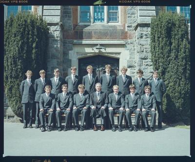 Negative: Christ's College Prefects 1984