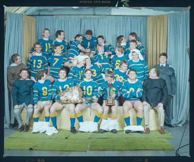 Negative: Lincoln College 1st XV Rugby 1984