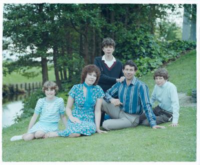 Negative: Alister James Family Portrait