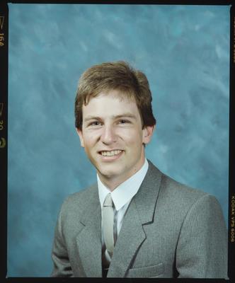 Negative: Mr Michael Bailey Portrait