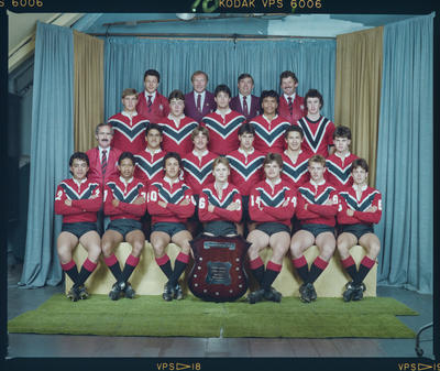 Negative: Canterbury Rugby League 17yos 1984