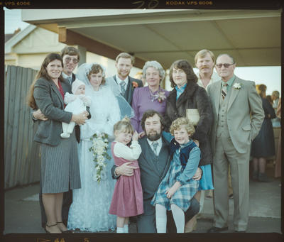 Negative: Holderness-Wilson Wedding Party