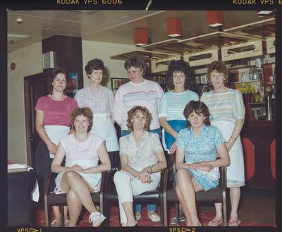 Negative: Eight Women Of CHCH Workingmen's Club