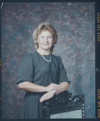 Negative: Miss O'Rourke Portrait