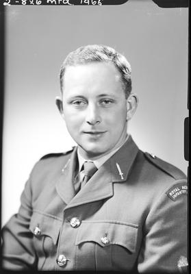 Film negative: Mr McKenzie, New Zealand Infantry