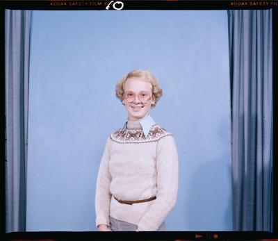 Film negative: Miss Fischer