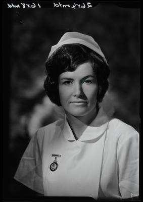 Film negative: Miss Bailey, nurse