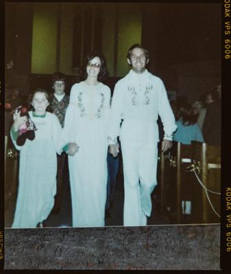 Film negative: Mr Pierce, group of four, copy