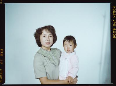 Negative: Mrs Nakane and Daughter